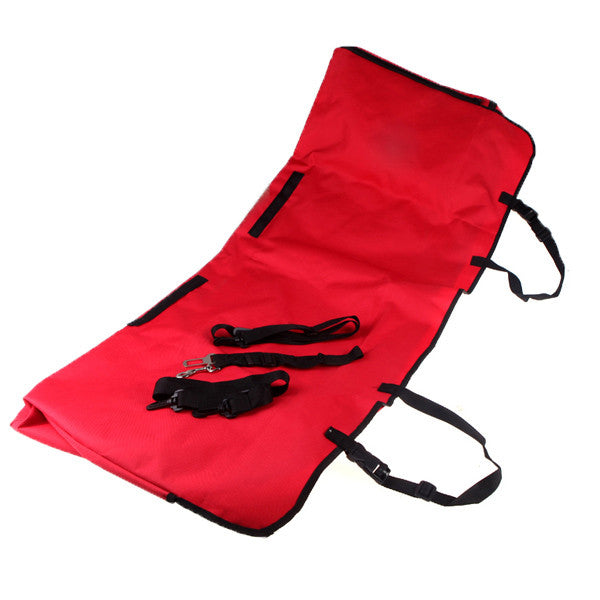 Pet Car Back Seat Hammock With Sides And Seat Belt Buckle Openings - Mr Fluffy Singapore Online Pet Store