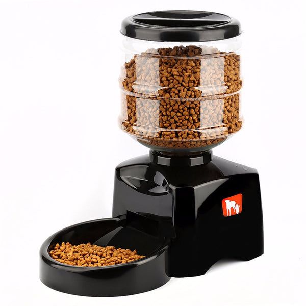 Automatic Food Dispenser 5.5L - Mr Fluffy Singapore Online Pet Store