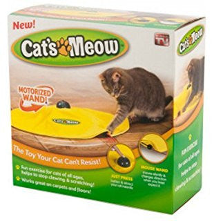 Cat's Meow Electric Toy - Mr Fluffy Singapore Online Pet Store
