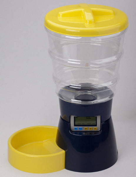 Large Automatic Food Dispenser 8L - Mr Fluffy Singapore Online Pet Store