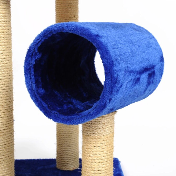 5-Tier Double House Cat Climbing Tree / Playhouse - Mr Fluffy Singapore Online Pet Store