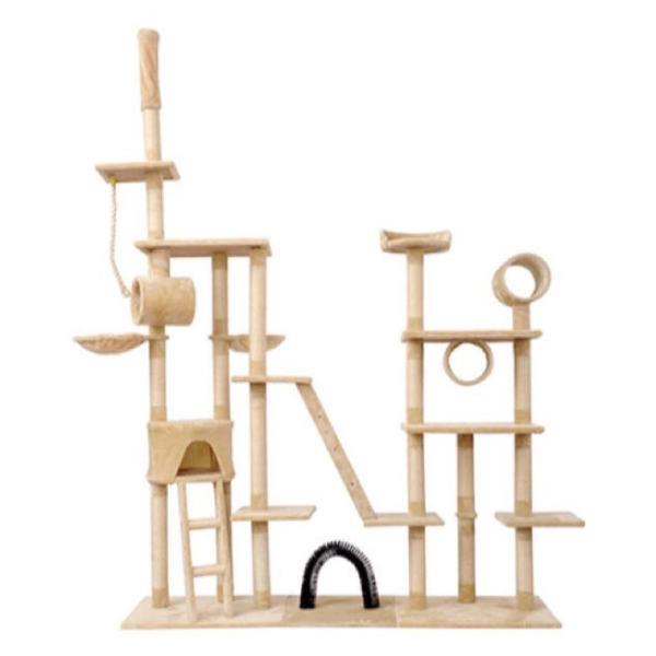 [PRE ORDER] Deluxe Cat Tree - Mr Fluffy Singapore Online Pet Store
