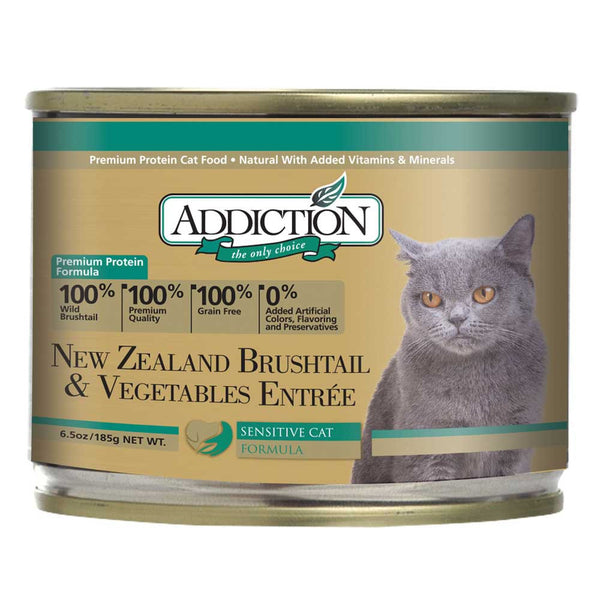 Addiction NZ Brushtail & Veg Entree (Grain Free) Cat Food - Mr Fluffy Singapore Online Pet Store