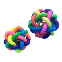 Pet Toy Ball With Bell - Mr Fluffy Singapore Online Pet Store