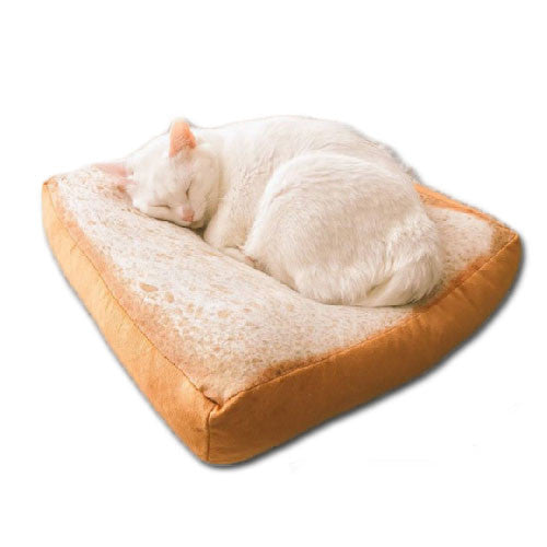 Cute Toast Pet Bed / Cushion - Mr Fluffy Singapore Online Pet Store