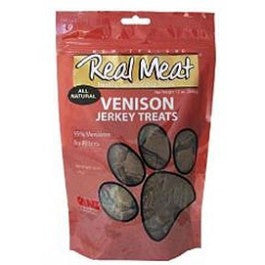 Canz Real Meat Dog Treat Venison Jerky - Mr Fluffy Singapore Online Pet Store
