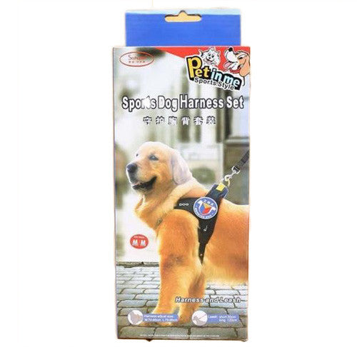 Heavy Duty Pet Harness & Leash Set - Mr Fluffy Singapore Online Pet Store