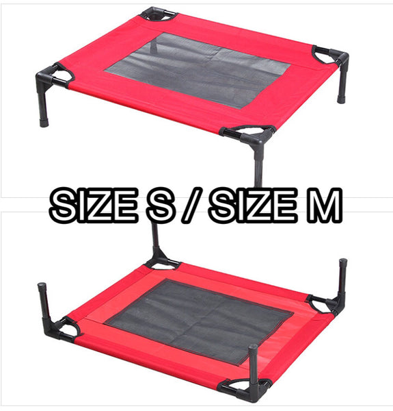 Elevated Pet Cot / Bed Frame With Net - Mr Fluffy Singapore Online Pet Store