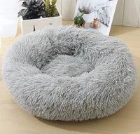 Ultra Soft Calming Pet Bed / Soothing Fluffy Cushion - Mr Fluffy