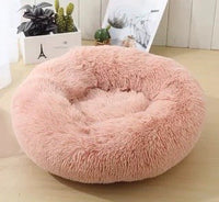 Ultra Soft Calming Pet Bed / Soothing Fluffy Cushion - Mr Fluffy Singapore Online Pet Store