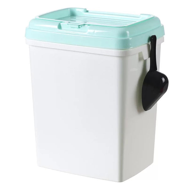 Pet Kibble Airtight Container with Free Scoop - Mr Fluffy Singapore Online Pet Store