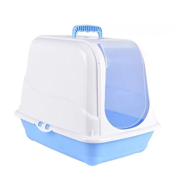 XL Covered Cat Litter Box With Free Scoop - Mr Fluffy