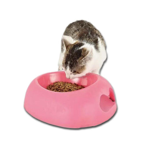 Lightweight Easy Grip Pet Bowl - Mr Fluffy