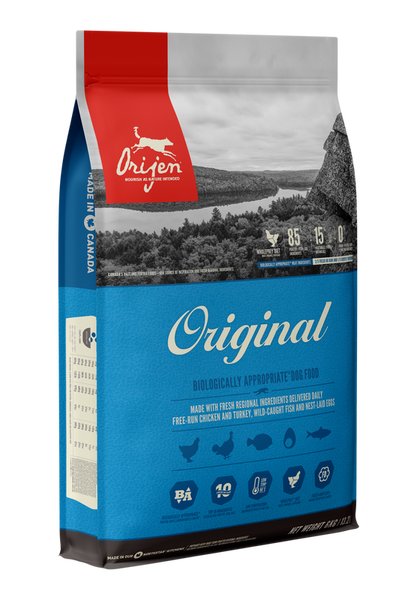 Orijen Original Adult 11.4kg Dog Food - Mr Fluffy Singapore Online Pet Store