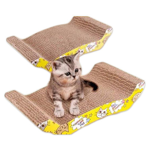 Cat Scratch Board - Mr Fluffy Singapore Online Pet Store