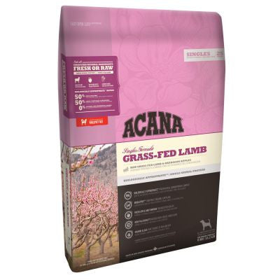 Acana Grass-Fed Lamb 11.4kg Dog Food - Mr Fluffy Singapore Online Pet Store