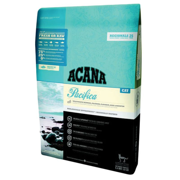 Acana Pacifica 5.4kg Cat Food - Mr Fluffy Singapore Online Pet Store