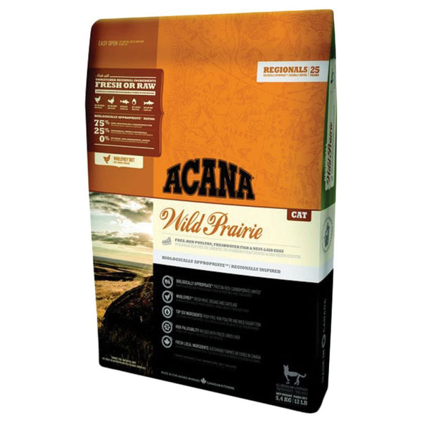 Acana Wild Prairie 6.8kg Cat Food - Mr Fluffy Singapore Online Pet Store