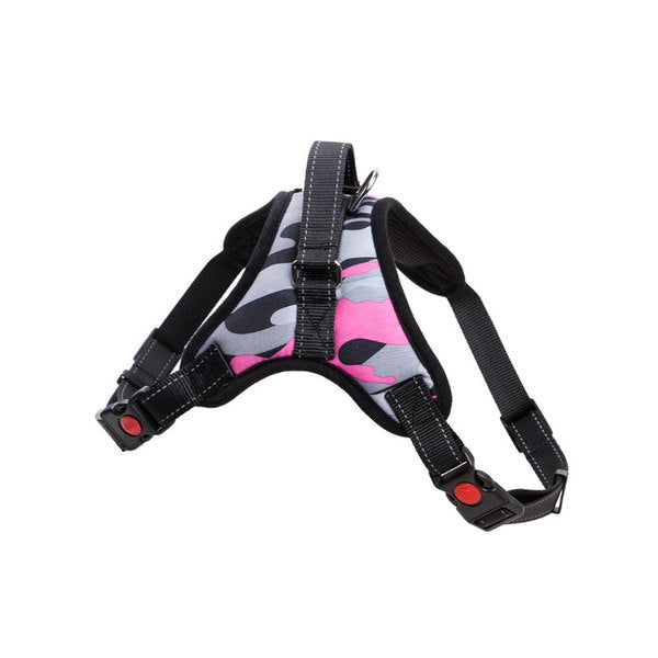 Camo Comfy Harness - Mr Fluffy Singapore Online Pet Store