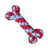 Pet Woven Toy Bone - Mr Fluffy