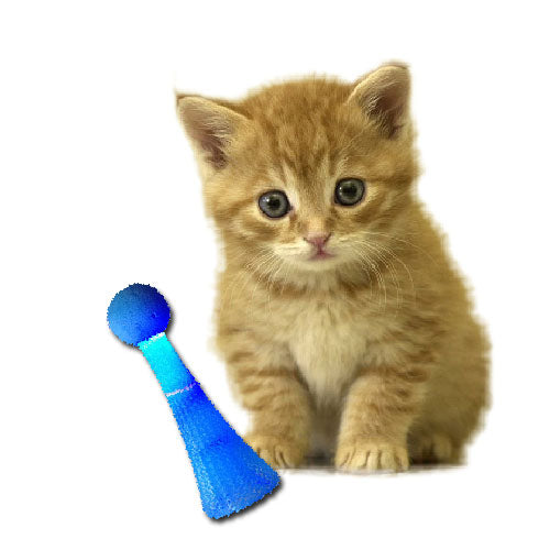 Momopet Light-Up Bouncing Cat Toy - Mr Fluffy Singapore Online Pet Store