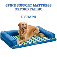 Spine Support Mattress / Bed Oxford Material - Mr Fluffy Singapore Online Pet Store