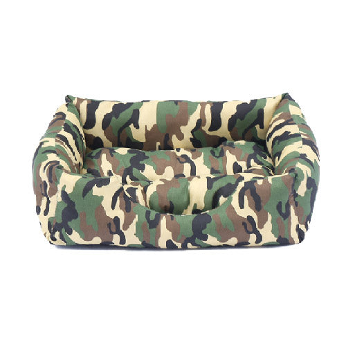 Camo Pet Cushion / Bed - Mr Fluffy Singapore Online Pet Store