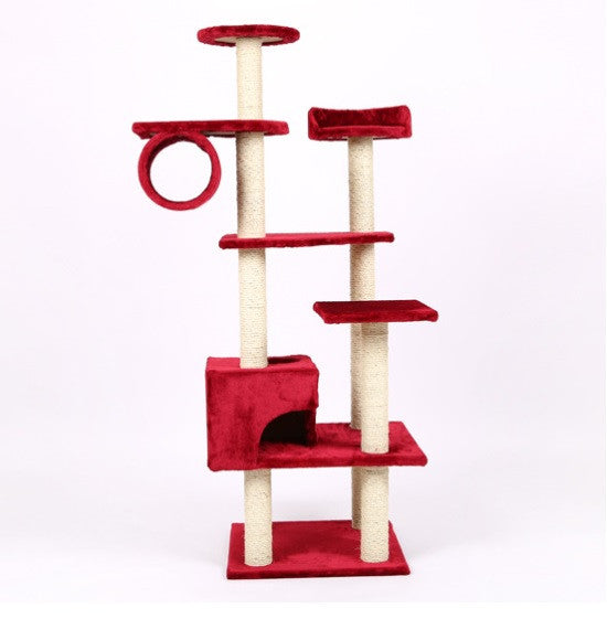 7-Tier Cat Climbing Tree / Playhouse - Mr Fluffy Singapore Online Pet Store