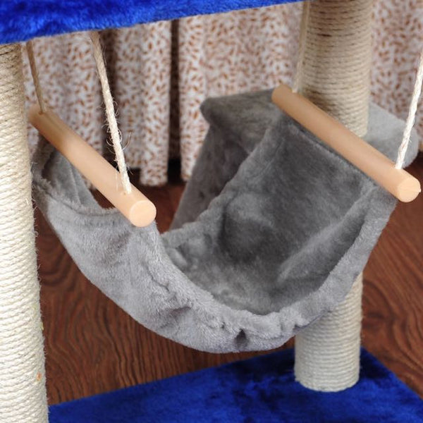 5-Tier Cat Climbing Tree / Playhouse - Mr Fluffy Singapore Online Pet Store