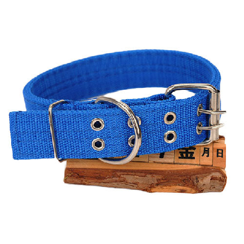 Canvas Large Pet Collar - Mr Fluffy Singapore Online Pet Store