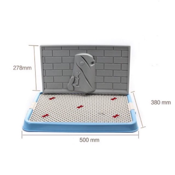 Pee Tray With Wall For Male Dogs - Mr Fluffy Singapore Online Pet Store