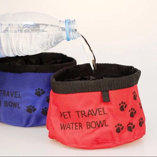 Travel Foldable Bowl - Mr Fluffy Singapore Online Pet Store
