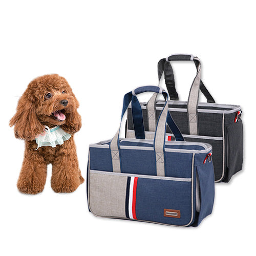 Multi Colour Nylon Fabric Pet Carrier / Bag for 7kg Pet's - Mr Fluffy Singapore Online Pet Store