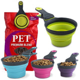 USA Imported 3-in-1 Pet Food Measuring Cup - Mr Fluffy Singapore Online Pet Store