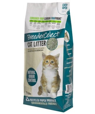 Breeder Celect Cat Litter 30L - Mr Fluffy Singapore Online Pet Store