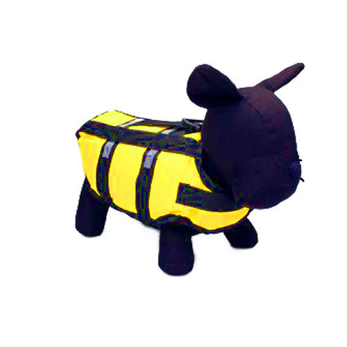 Yellow Pet Life Vest / Jacket - Mr Fluffy Singapore Online Pet Store
