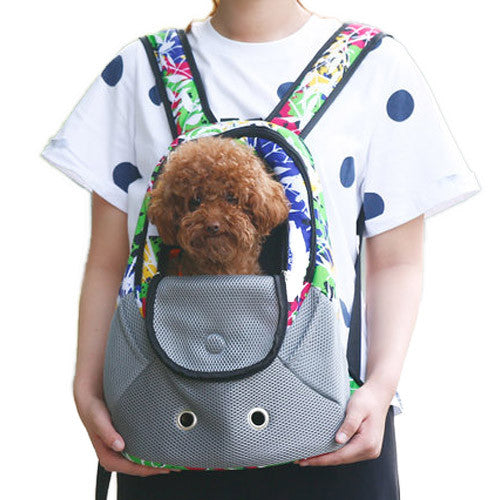 Pet Backpack Carrier For 4kg Pets - Mr Fluffy Singapore Online Pet Store