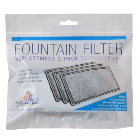 Filter Refill Pack (Set of 3) For Pet Drinking Fountain - Mr Fluffy Singapore Online Pet Store