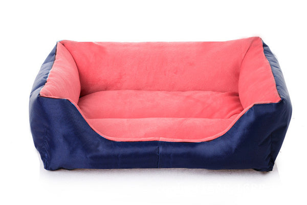 Plain Pet Cushion / Bed with Waterproof Base - Mr Fluffy Singapore Online Pet Store