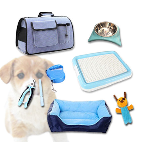 Puppy Starter Kit - Mr Fluffy Singapore Online Pet Store