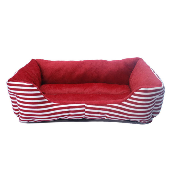 Stripe Pet Cushion / Pillow with Waterproof Base - Mr Fluffy Singapore Online Pet Store