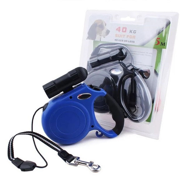 Pet Leash With LED Light / Torch - Mr Fluffy Singapore Online Pet Store