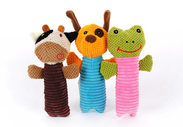 Squeaky Pet Toy Doll - Mr Fluffy Singapore Online Pet Store