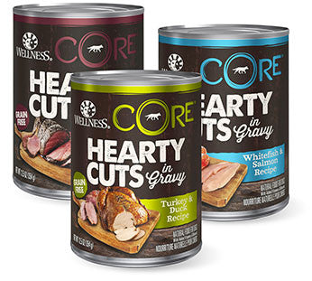 Wellness Core Hearty Cuts Canned Dog Food 12.5oz - Mr Fluffy Singapore Online Pet Store