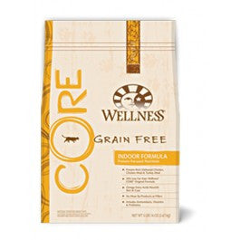 Wellness Core (Grain Free) Indoor 12lbs Cat Food - Mr Fluffy Singapore Online Pet Store