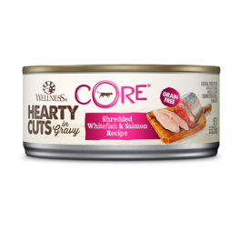 Wellness Core Hearty Cuts Canned Cat Food 5.5oz (6 Cans) - Mr Fluffy Singapore Online Pet Store