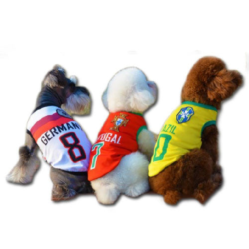 Pet Colourful Jersey Cooling - Mr Fluffy Singapore Online Pet Store