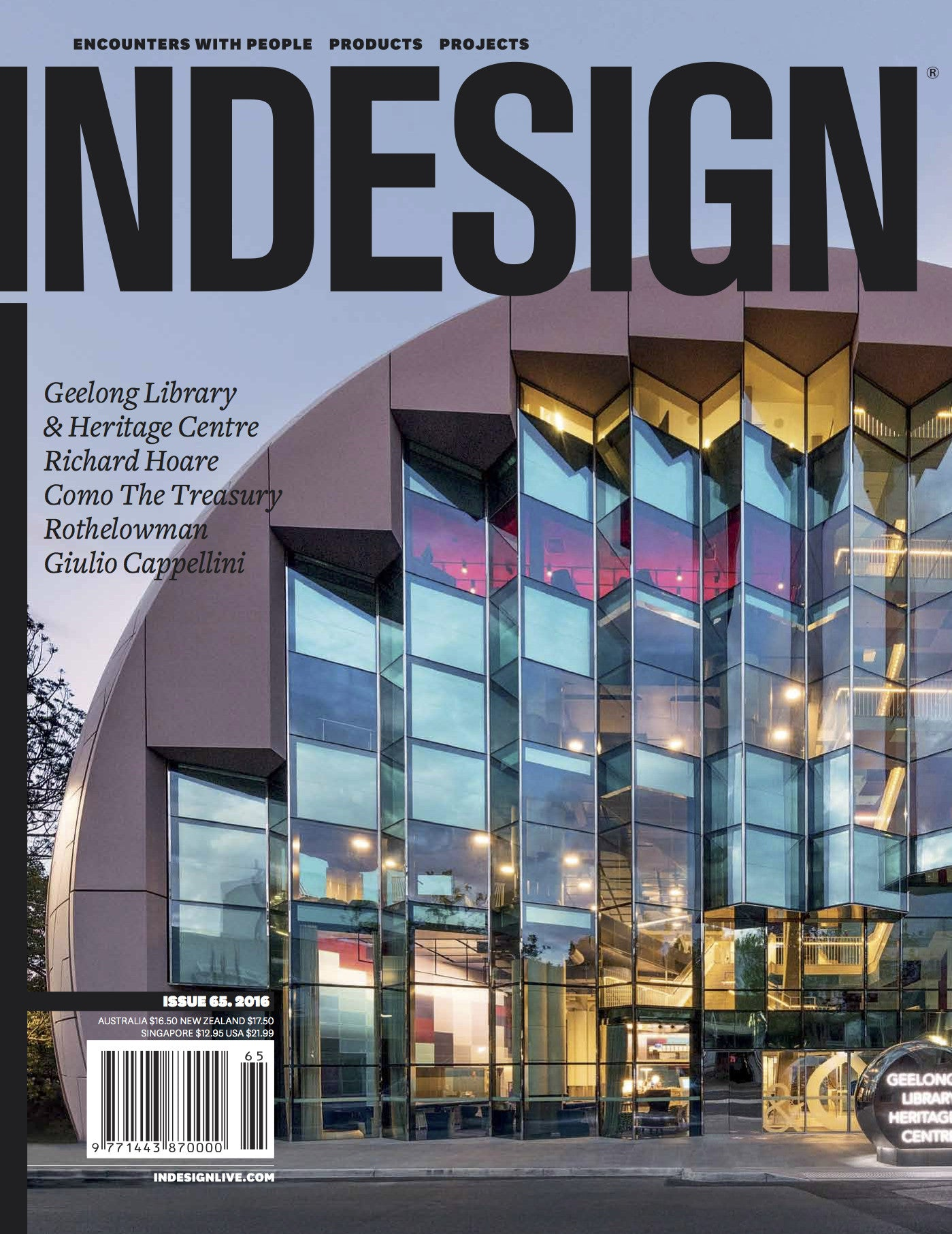 INDESIGN Issue 65 . 2016