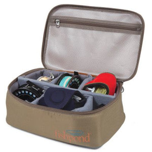 Fishpond Ripple Reel Case - Large - Sand/Saddle Brown