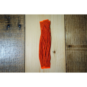 Grizzly Flutter Legs - Hot Orange Bared